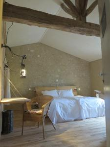 Domaine De Chantemerle B'nB, Bed & Breakfast  Marsac - big - 4