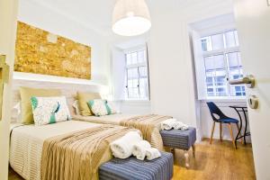 Entre o Carmo e a Trindade, Appartamenti  Lisbona - big - 32