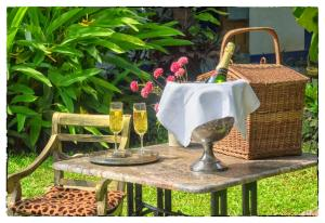 The Secret Garden Goa, Проживание в семье  Saligao - big - 53