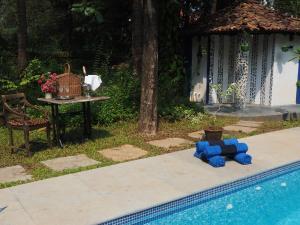 The Secret Garden Goa, Проживание в семье  Saligao - big - 44