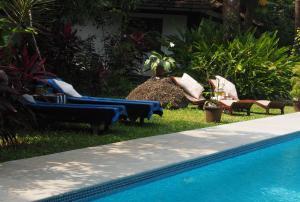 The Secret Garden Goa, Проживание в семье  Saligao - big - 47