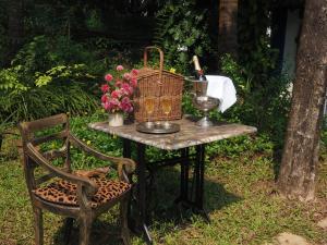 The Secret Garden Goa, Проживание в семье  Saligao - big - 52