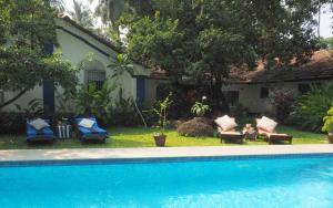 The Secret Garden Goa, Проживание в семье  Saligao - big - 55