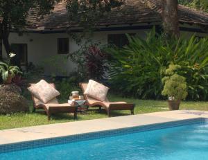 The Secret Garden Goa, Проживание в семье  Saligao - big - 56
