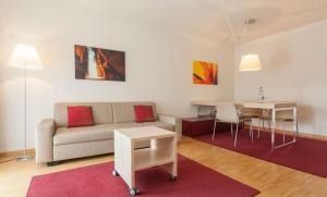One-Bedroom Apartment - Separate living room EMA House Serviced Apartments, Unterstrass