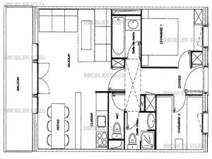 Rental Apartment Valériane - Valmorel I