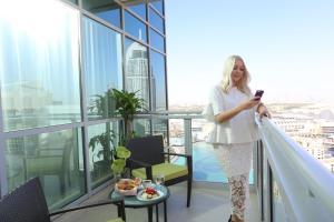 Люкс с 2 спальнями и видом на небоскреб Бурдж-Халифа/фонтан