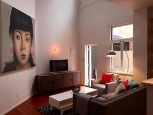 Elegant Central Retreat, Апартаменты  Окленд - big - 9