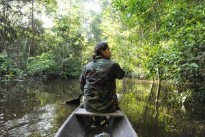 Amazon Golden Snake, Kunyhók  Santa Teresa - big - 14