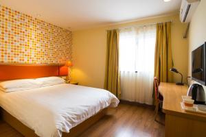 Home Inn Shijiazhuang West Zhongshan Road Jinding Apartment, Szállodák  Sicsiacsuang - big - 9