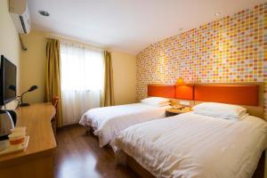 Home Inn Shijiazhuang West Zhongshan Road Jinding Apartment, Szállodák  Sicsiacsuang - big - 10