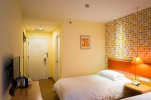 Home Inn Shijiazhuang West Zhongshan Road Jinding Apartment, Szállodák  Sicsiacsuang - big - 18