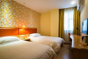 Home Inn Shijiazhuang West Zhongshan Road Jinding Apartment, Szállodák  Sicsiacsuang - big - 16