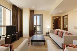 Suite mit 1 Schlafzimmer und Blick auf den Springbrunnen