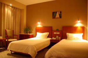 Greentree Inn Beijing Miyun Xinzhong Street Business Hotel, Szállodák  Mijün - big - 6