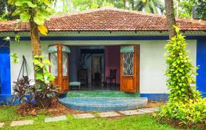 The Secret Garden Goa, Проживание в семье  Saligao - big - 9