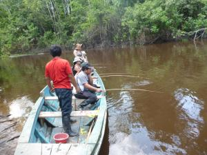 Amazon Golden Snake, Kunyhók  Santa Teresa - big - 19