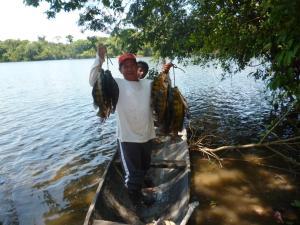 Amazon Golden Snake, Kunyhók  Santa Teresa - big - 20
