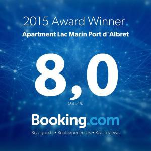 Appartements à côté Lac Marin de Port d'Albret, Apartments  Vieux-Boucau-les-Bains - big - 27