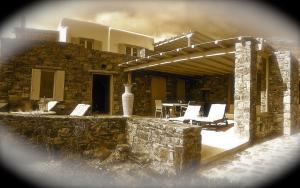 Villa Panorama, Виллы  Панормос-Миконос - big - 14
