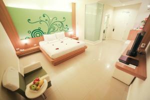 Vientiane Hemera Hotel, Hostince  Vientiane - big - 9