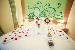 Vientiane Hemera Hotel, Hostince  Vientiane - big - 19
