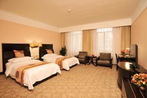 Dalian Friendship Hotel, Отели  Далянь - big - 16