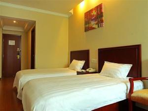 GreenTree Inn Shandong Tai'an East Railway Station Caiyuan Street Express Hotel