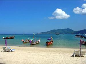 Patong Bay Hill 1 bedroom Apartment, Appartamenti  Patong Beach - big - 7