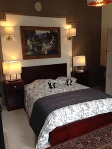 Maison du chatelain, Penziony  Saint-Aignan - big - 4