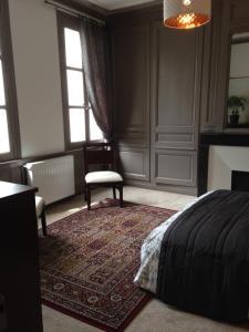 Maison du chatelain, Penziony  Saint-Aignan - big - 8