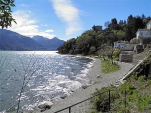 Alla Spiaggia, Apartmány  Pianello Del Lario - big - 8