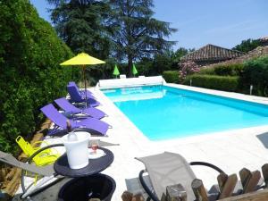 La Rouquette Marcoux, Dovolenkové domy  Beauville - big - 74