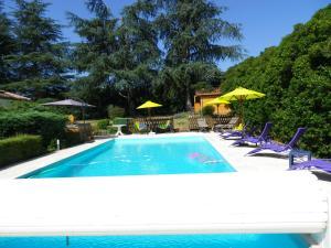 La Rouquette Marcoux, Dovolenkové domy  Beauville - big - 73