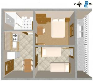 Apartment Sali 443a