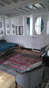 Demeure de Villiers, Bed and Breakfasts  Coudeville - big - 45