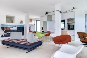 Magnificent contemporary villa Esterel Massif, Виллы  Фрежюс - big - 29