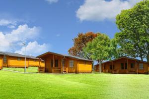 3 hvězdičkový bungalov Camping Amerika Františkovy Lázně Česko