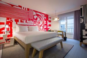 Apartament typu Studio z łóżkiem typu king-size