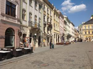 Apartments on Plocsha Rynok 40
