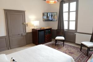 Maison du chatelain, Penziony  Saint-Aignan - big - 45