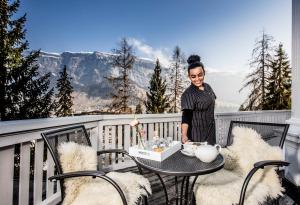 Romantik Hotel Schweizerhof, Hotely  Flims - big - 58