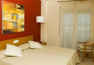 Hotel Roca Plana, Hotely  L'Ampolla - big - 8