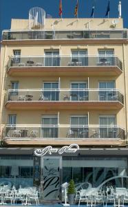 Hotel Roca Plana, Hotely  L'Ampolla - big - 17