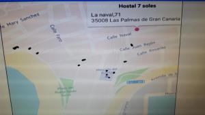 Hostal 7 Soles, Affittacamere  Las Palmas de Gran Canaria - big - 39
