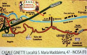 Casale Ginette, Vidiecke domy  Incisa in Valdarno - big - 59