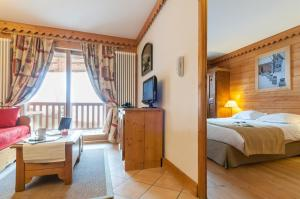 Pierre & Vacances Premium Les Alpages de Chantel, Aparthotels  Arc 1800 - big - 41