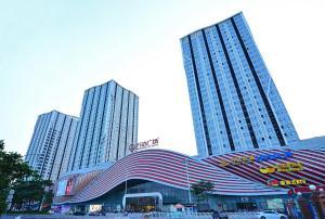 BaiHe International Apartment hotel Luogang Wanda Plaza Branch