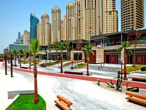 One Bedroom Apartment - Bay Central Tower - Dubai