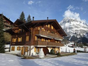 Haus Sapporo, Apartments  Grindelwald - big - 13